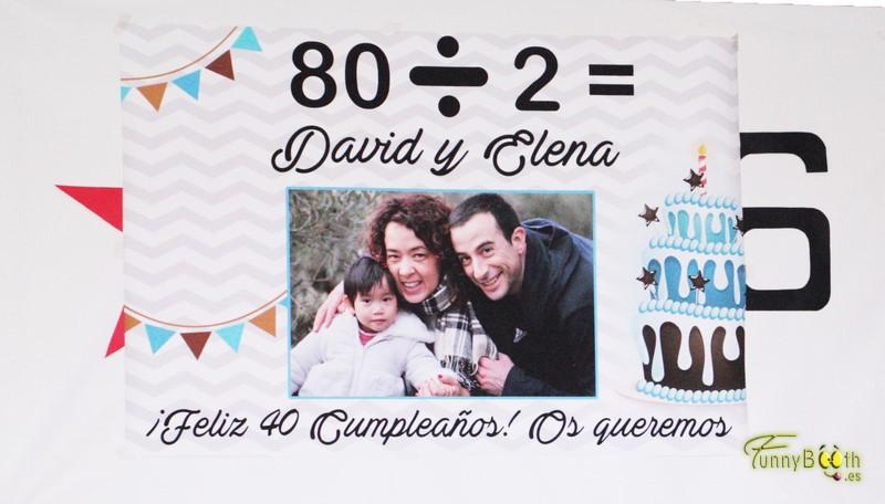 Fotomatón Cumpleaños David y Elena