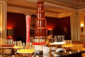 fuente chocolate para boda