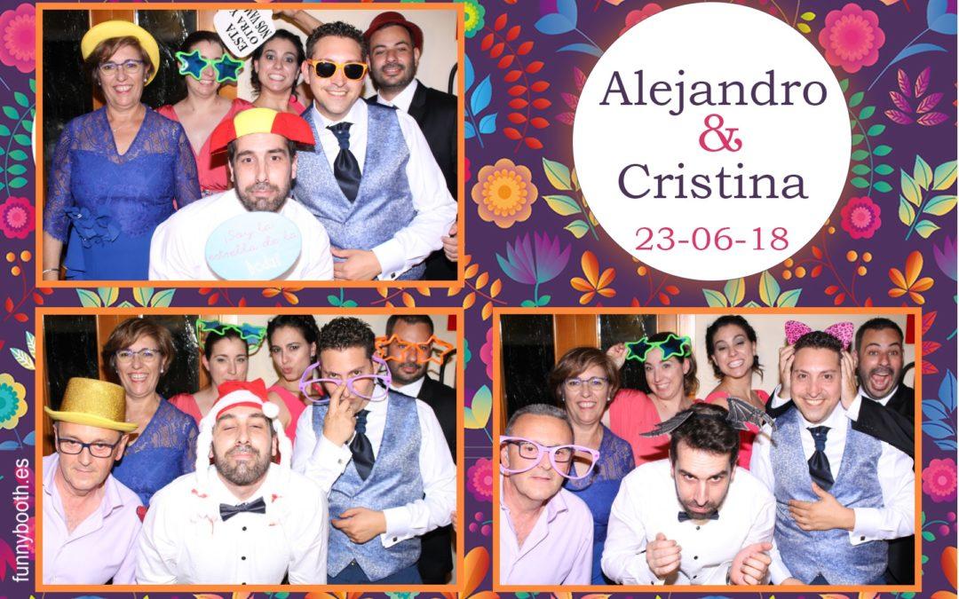 Fotomatón en Elx – Boda de Cristina y Alejandro 23 de Junio