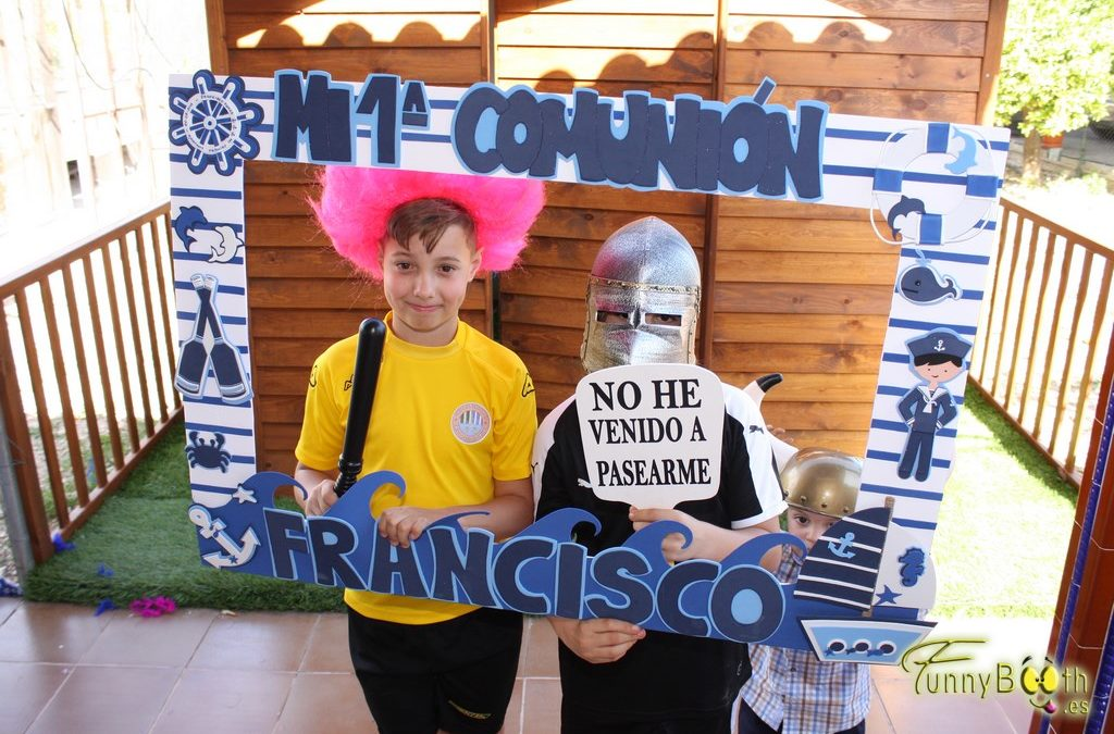 Fotomatón en Crevillente – Comunión Francisco 20 de Mayo