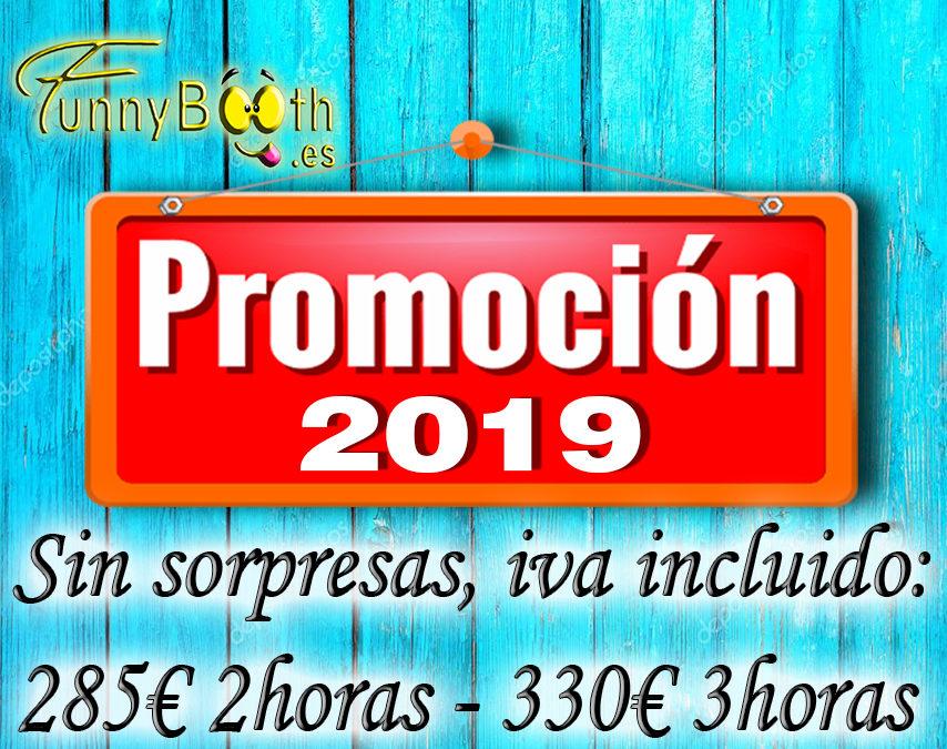 Promoción fotomaton en 2019