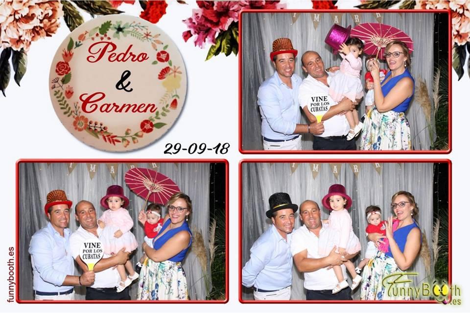 Boda de Pedro & Carmen en Salón Azahar 29 de Sept.