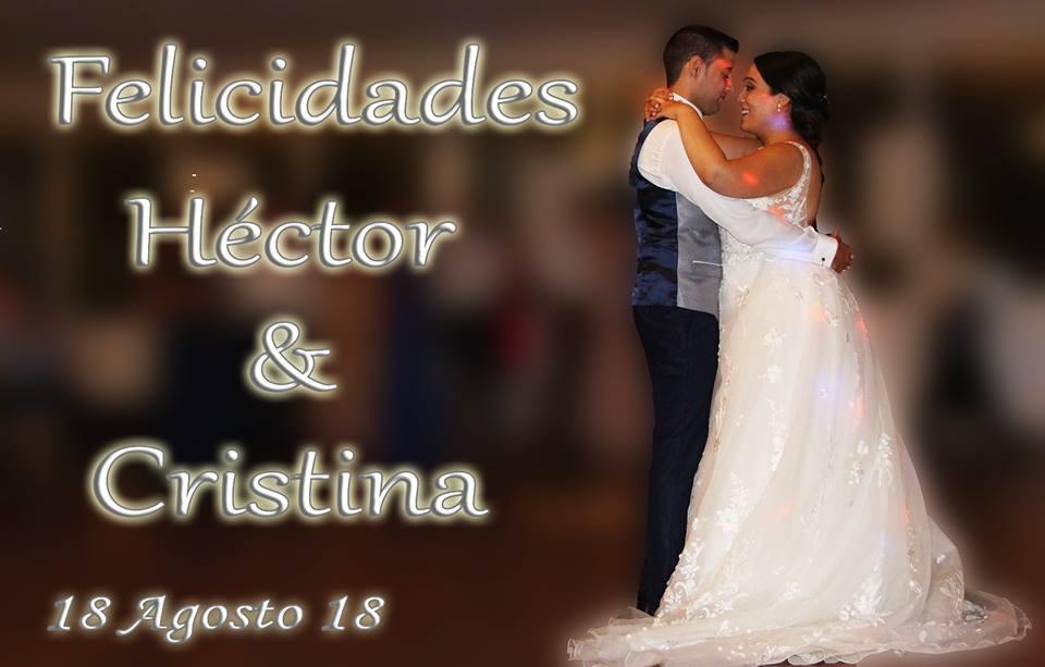 Boda de Héctor y Cristina 18 de Agosto en Aspe