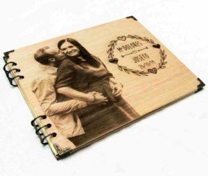 album madera personalizado
