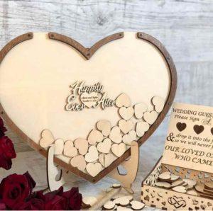 libro firmas madera boda