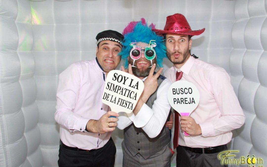 Fotomatón boda Raúl y Rosana Marzo
